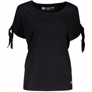 Dámské triko s krátkým rukávem ALTISPORT NIALA LTSR671 ČERNÁ