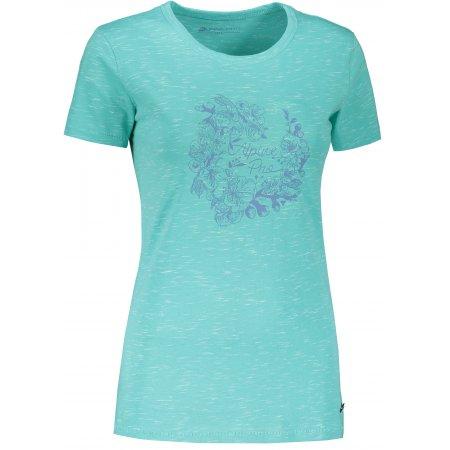Dámské triko ALPINE PRO ROZENA 6 LTSR591 ZELENÁ