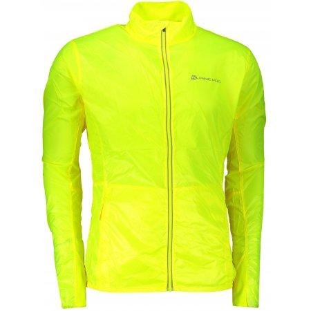 Pánská sportovní bunda ALPINE PRO BERYL 4 MJCR392 ŽLUTÁ