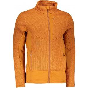 Pánský svetr HUSKY ALAN M HNĚDOORANŽOVÁ