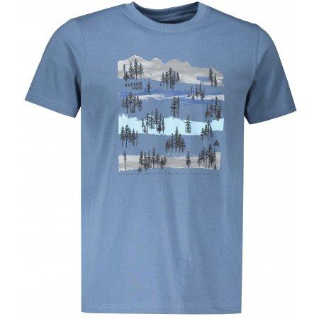 Pánské triko ALPINE PRO UNEG 8 MTSR458 ŠEDOMODRÁ