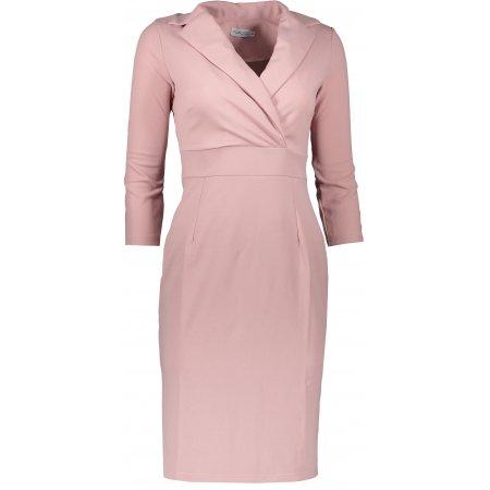 Dámské šaty NUMOCO KELLY A237-1 SVĚTLE RŮŽOVÁ