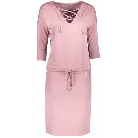 Dámské šaty NUMOCO JANET A230-5 SVĚTLE RŮŽOVÁ