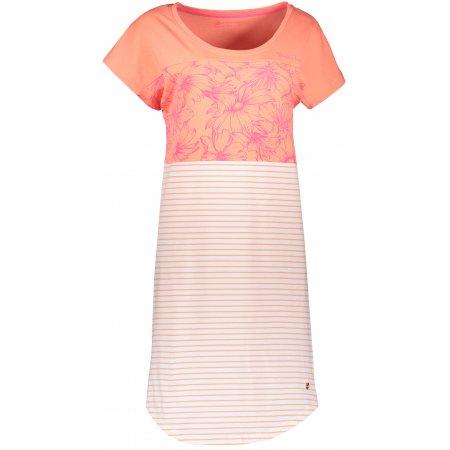 Dámské šaty ALPINE PRO CLEYA LSKR222 ORANŽOVÁ