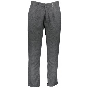 Pánské kalhoty OMBRE AP869 DARK GREY