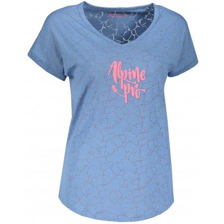 Dámské triko ALPINE PRO HARISA 3 LTSR575 MODRÁ