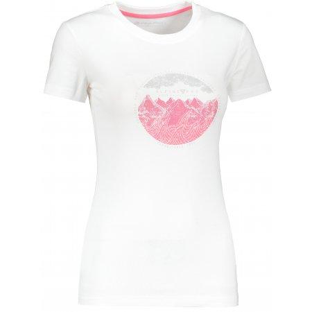 Dámské triko ALPINE PRO UNEGA 7 LTSR573 BÍLÁ