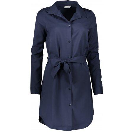 Dámské šaty NUMOCO A288-1 TMAVĚ MODRÁ