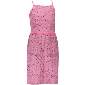 Dívčí šaty ALPINE PRO ZELDO KSKR068 RŮŽOVÁ