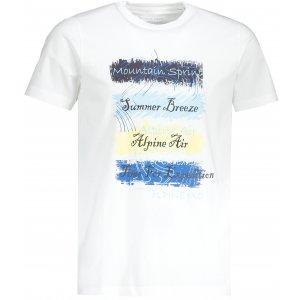 Pánské triko ALPINE PRO AMIT 7 MTSR475 BÍLÁ