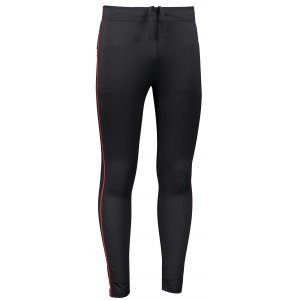 Pánské elastické kalhoty ALPINE PRO TAIP 4 MPAR419 ČERNÁ/ČERVENÁ