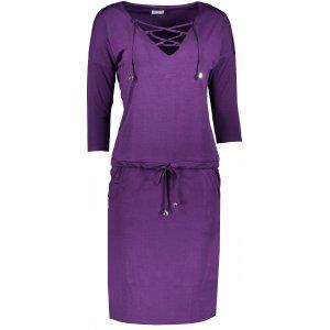 Dámské šaty NUMOCO JANET A230-4 FIALOVÁ