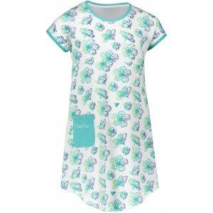Dívčí šaty ALPINE PRO TERESO KSKR067 BÍLÁ