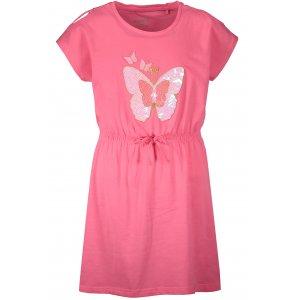 Dívčí šaty SAM 73 KSKR078 RŮŽOVÁ