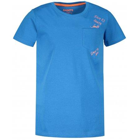 Chlapecké triko s krátkým rukávem SAM 73 KTSR257 MODRÁ