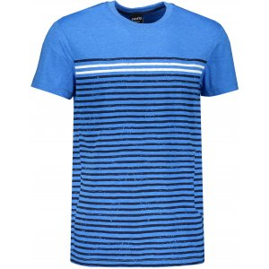 Pánské triko s krátkým rukávem SAM 73 MT 765 MODRÁ