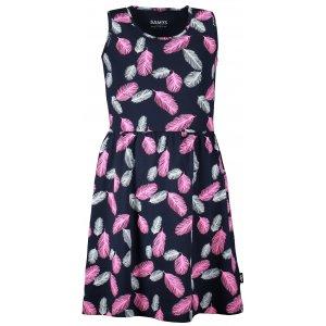 Dívčí šaty SAM 73 KSKR072 TMAVĚ MODRÁ