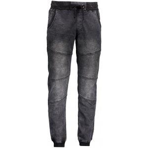 Pánské kalhoty OMBRE AP551 BLACK