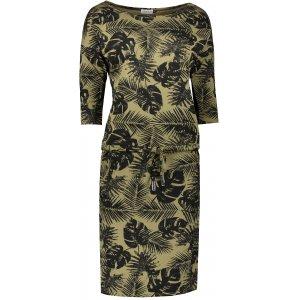 Dámské šaty NUMOCO A13-85 KHAKI