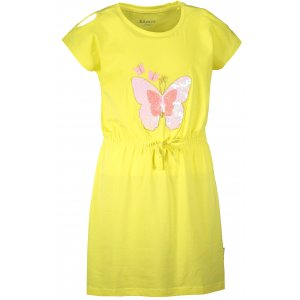 Dívčí šaty SAM 73 KSKR078 ŽLUTÁ