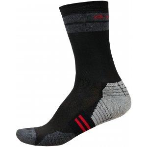 Ponožky ALPINE PRO ADRON 3 USCR051 ČERVENÁ