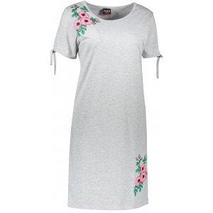 Dámské šaty SAM 73 WZ 773 SVĚTLE ŠEDÁ