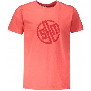 Pánské triko s krátkým rukávem SAM 73 ALIF MTSR487 ČERVENÁ