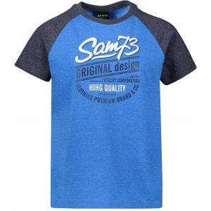 Chlapecké triko s krátkým rukávem SAM 73 BT 539 MODRÁ