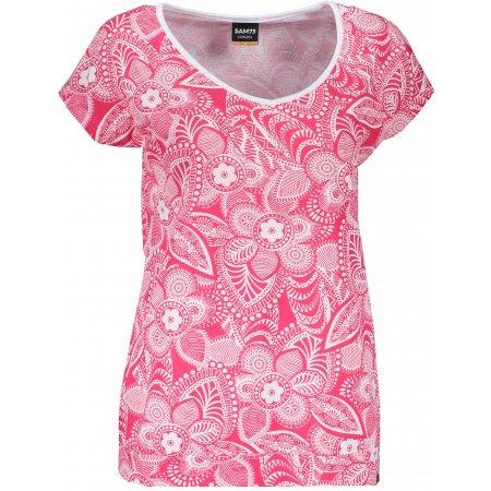 Dámské triko s krátkým rukávem SAM 73 WT 794 RŮŽOVÁ