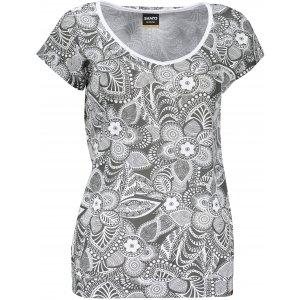 Dámské triko s krátkým rukávem SAM 73 WT 794 TMAVĚ ŠEDÁ