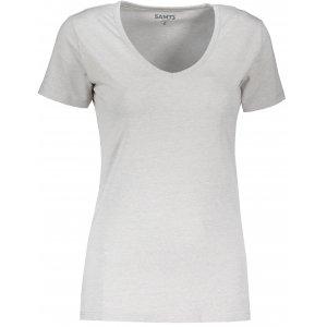 Dámské triko s krátkým rukávem SAM 73 MELEKA LTSR614 SVĚTLE ŠEDÁ