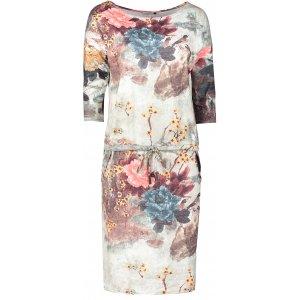 Dámské šaty NUMOCO A13-115 SVĚTLE MODRÁ