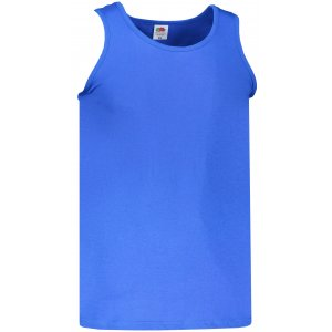 Pánské tílko FRUIT OF THE LOOM VALUEWEIGHT ATHLETIC VEST ROYAL BLUE