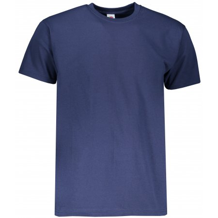 Pánské triko s krátkým rukávem FRUIT OF THE LOMM SUPER PREMIUM T NAVY