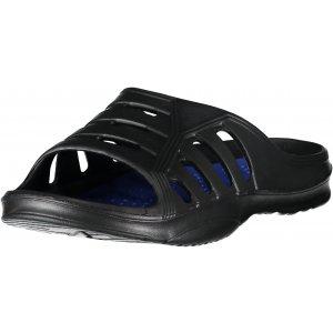 Pánské pantofle ALPINE PRO LOIS MBTR209 ČERNÁ/MODRÁ