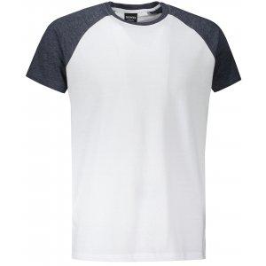 Pánské triko s krátkým rukávem SAM 73 MT 767 BÍLÁ