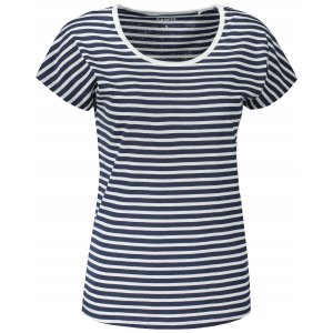 Dámské triko s krátkým rukávem SAM 73 ALESIA LTSR627 TMAVĚ MODRÁ