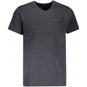 Pánské triko s krátkým rukávem SAM 73 LADIUS MTSR524 ČERNÁ