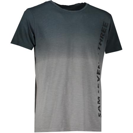 Pánské triko s krátkým rukávem SAM 73 MTSR542 ČERNÁ