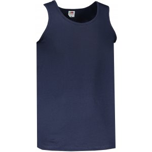 Pánské tílko FRUIT OF THE LOOM VALUEWEIGHT ATHLETIC VEST DEEP NAVY