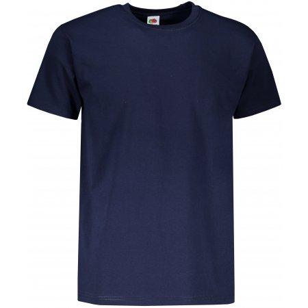 Pánské triko s krátkým rukávem FRUIT OF THE LOMM SUPER PREMIUM T DEEP NAVY