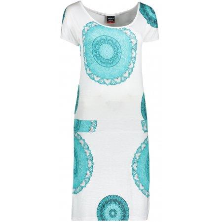Dámské šaty SAM 73 WZ 774 ZELENÁ NEON
