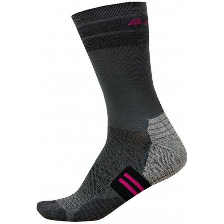 Ponožky ALPINE PRO ADRON 3 USCR051 RŮŽOVÁ
