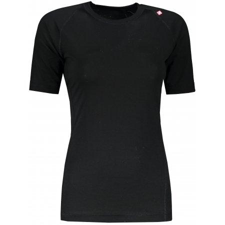 Dámské funkční triko ALPINE PRO MERINA LTSR596 ČERNÁ