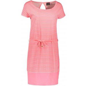 Dámské šaty SAM 73 WZ 769 RŮŽOVÁ NEON