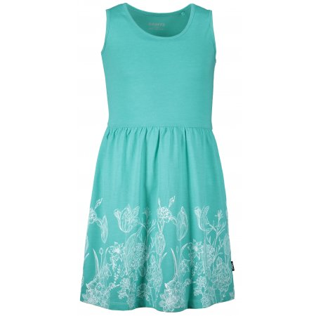 Dívčí šaty SAM 73 KSKR071 ZELENÁ