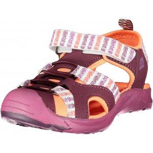 Dětské sandále ALPINE PRO BIELO KBTR237 FIALOVÁ