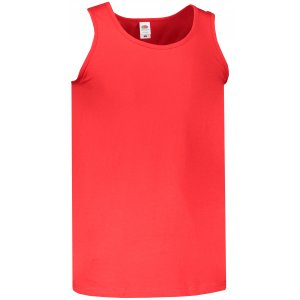 Pánské tílko FRUIT OF THE LOOM VALUEWEIGHT ATHLETIC VEST RED
