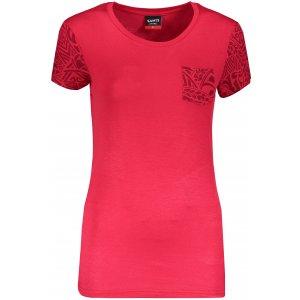 Dámské triko s krátkým rukávem SAM 73 WT 800 ČERVENÁ