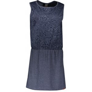Dámské šaty SAM 73 WZ 770 TMAVĚ MODRÁ